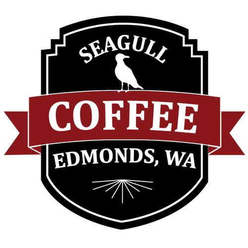Seagull Coffee Edmonds, WA sticker