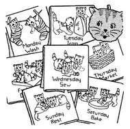 Aunt Martha's #9180 Mischievous Kittens