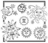 Aunt Martha's #3947 Sol y Luna
