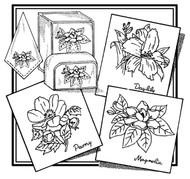 Aunt Martha's #3866 Daylily, Peony, & Magnolia
