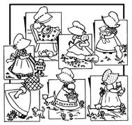 Aunt Martha's #3920 Bonnie Bonnet