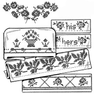 Aunt Martha's #3791 Lovely Borders for Pillow Cases