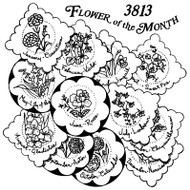 Aunt Martha's #3813 Flower of the Month