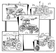 Aunt Martha's #3940 Tractors