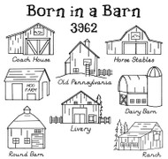 Aunt Martha's #3962 Born in a Barn