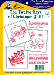 Aunt Martha's #C950 12 Days of Christmas