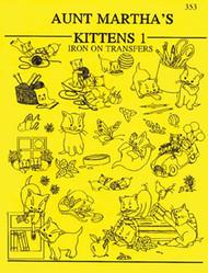 Aunt Martha's #353 Kittens