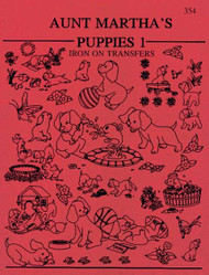 Aunt Martha's #354 Puppies