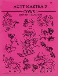 Aunt Martha's #357 Cows