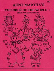 Aunt Martha's #362 Children of the World
