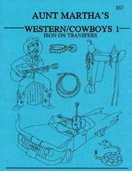 Aunt Martha's #367 Western & Cowboys