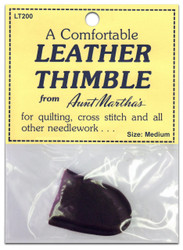 Leather Thimble, Medium
