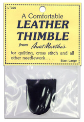 Leather Thimble, Large