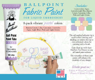 Aunt Martha's Ballpoint Paint 8-pack (Pastel)