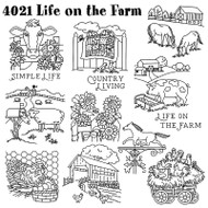 Aunt Martha's #4021 Life on the Farm