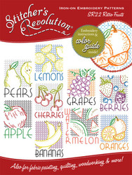 SR22 Stitcher's Revolution Retro Fruit