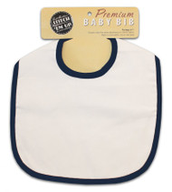 Baby Bib - Navy Blue