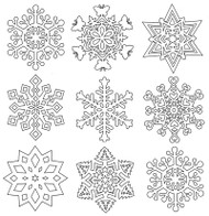 Aunt Martha's Special Edition - Snowflakes