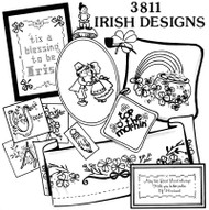 Aunt Martha's #3811 Irish Designs