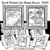 Aunt Martha's #3903 Seed Packets