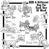 Aunt Martha's #3335 A Dog A Day