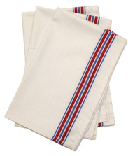Aunt Martha's Stitch 'Em Up Retro American Stripe Herringbone Towels