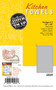 Aunt Martha's Stitch 'Em Up Solid Gray Dye Kitchen Towels - Retail Pkg of 2
