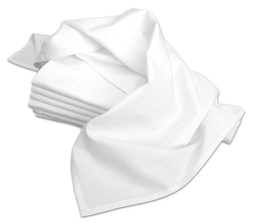 Aunt Martha's Stitch 'Em Up Premium Quality 18x28 Flour Sack Tea Towels