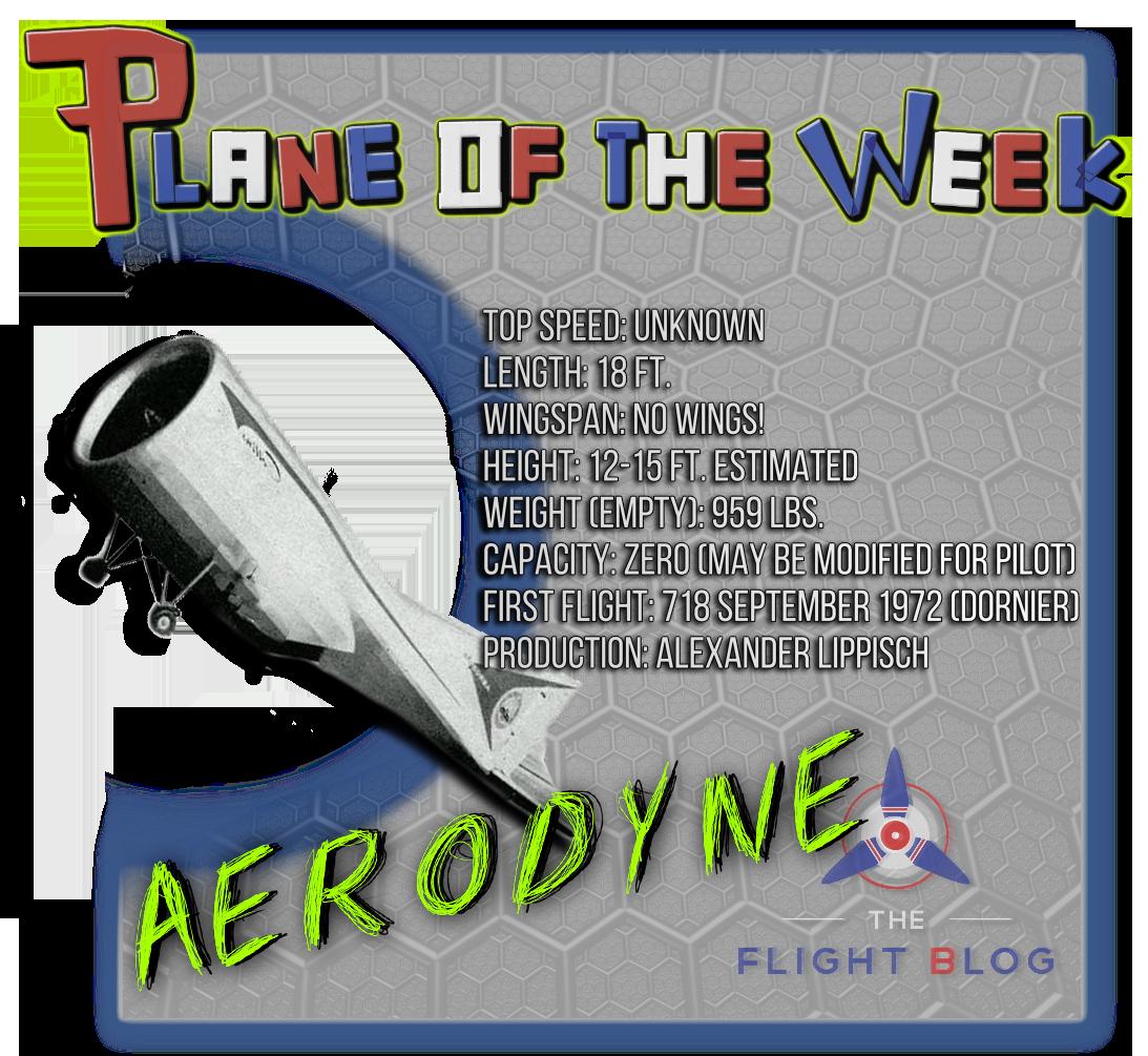 plane of the week alexander lippisch s aerodyne aviation oil outlet