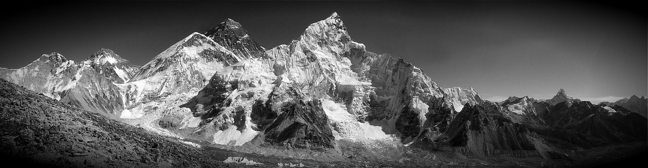 mount everest, first flight over everest, mount everest