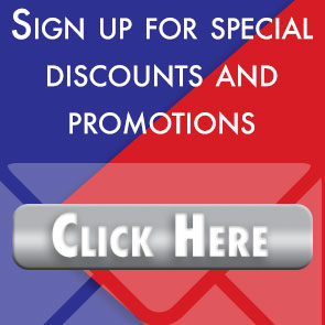 sign up for discounts and promotions