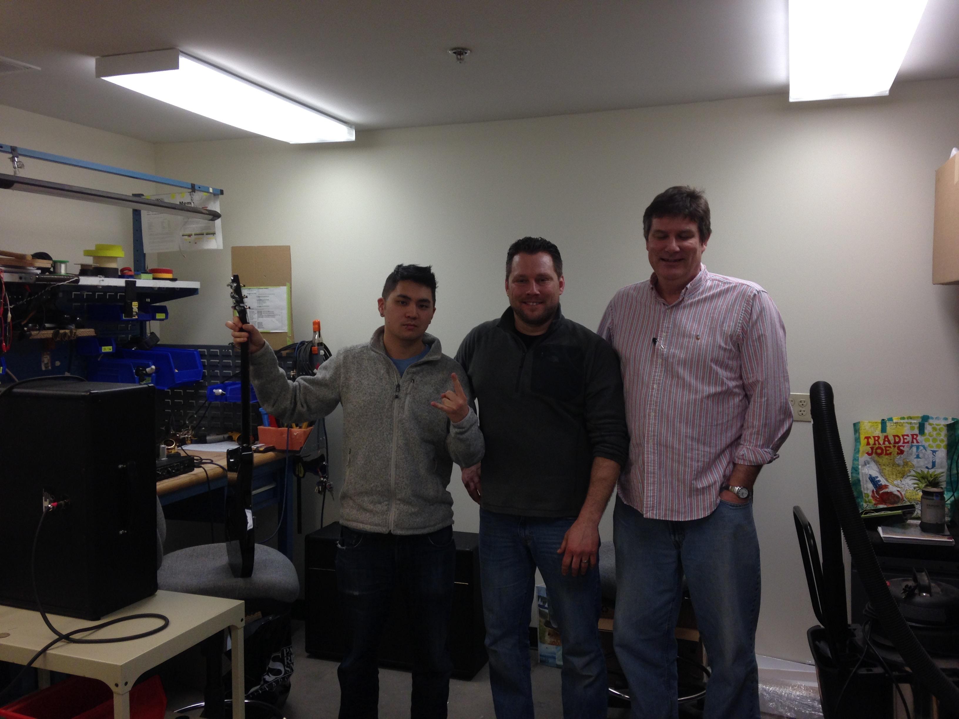 Brandon Chang, Brett Mulzer, Doug Sewell @ AMP Dept.