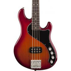 Fender Dimension IV Deluxe Bass w/Rosewood Fretboard Aged Cherry Burst