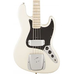Fender American Vintage 1974 Olympic White Jazz Bass w/ Maple Fretboard