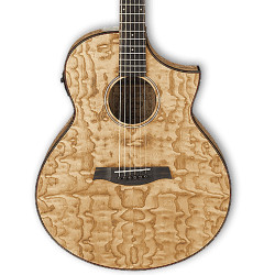 Ibanez Exotic AEW40ST Natural High Gloss Acoustic Guitar