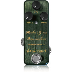 One Control Hooker's Green Bassmachine Overdrive