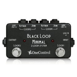 One Control Minimal Series Black Loop 2 Loop System