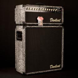 Devilcat Jimmy Head & 212C Cabinet Snakeskin S/N 150101/150102