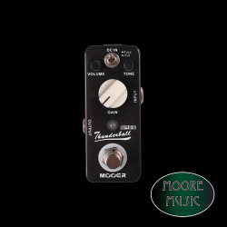 Mooer Thunderball, Bass fuzz & Distortion Pedal