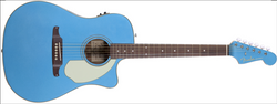 Fender Sonoran SCE Solid Spruce Top w/ Electronics Lake Placid Blue