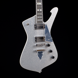 Ibanez Paul Stanley Signature PS120SP Silver Sparkle 0151