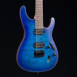 Ibanez S621QM Sapphire Blue Flat 0282