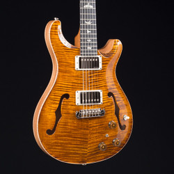 PRS HollowBody II Piezo Black Gold 10 Top 1286