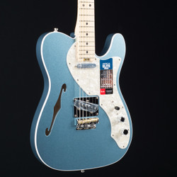 Fender American Elite Telecaster Thinline Mystic Ice Blue 0579