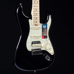 Fender American Elite Stratocaster HSS Shawbucker Mystic Black 7152