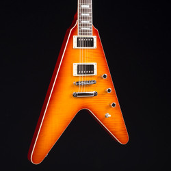 Reverend Volcano Faded Burst Flame Maple 5615