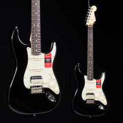 Fender American Professional Stratocaster HSS Shawbucker Black 2538