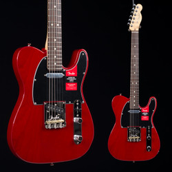 Fender American Professional Telecaster Crimson Red Transparent 2888