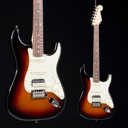 Fender American Professional Stratocaster HSS Shawbucker Three Tone Sunburst 2496