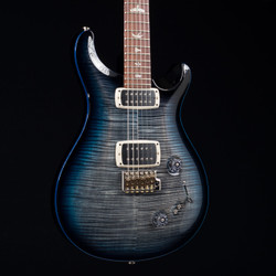 PRS 408 MT 10 Top Trem Honduran Rosewood Neck Charcoal Blue Burst 4539